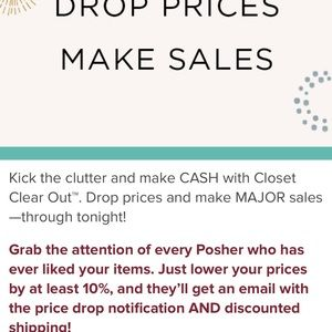 POSHMARK IS OFFERING REDUCED RATE SHIPPING TODAY
